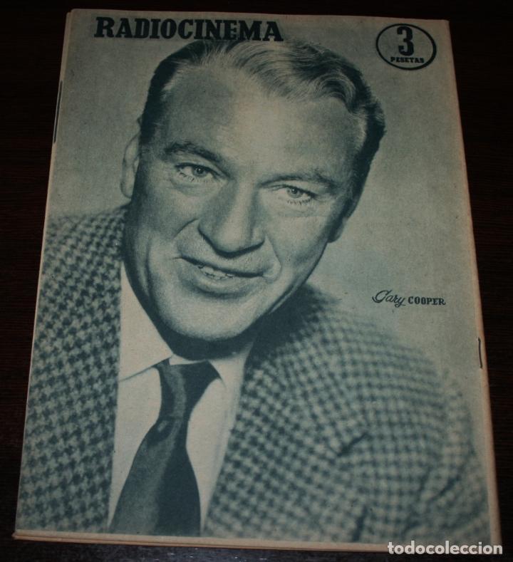 Cine: RADIOCINEMA Nº 319 - 1/09/1956 - EN PORTADA/CONTRAPORTADA: JEANNE MOUREAU/GARY COOPER - Foto 3 - 99907895
