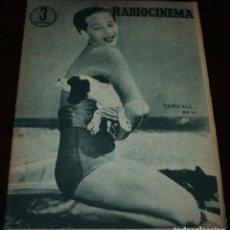 Cine: RADIOCINEMA Nº 317 - 18/08/1956 - EN PORTADA/CONTRAPORTADA: TAINA ELG/MARGA Y GOWER CHAMPION. Lote 99908011