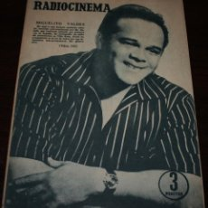 Cine: RADIOCINEMA Nº 316 - 11/08/1956 - EN PORTADA/CONTRAPORTADA: MIGUELITO VALDES/ELSA MARTINELLI. Lote 99908055