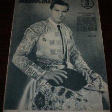 Cine: RADIOCINEMA Nº 315 - 4/08/1956 - EN PORTADA/CONTRAPORTADA: ANTONIO DURAN/LESLIE CARON. Lote 99908103