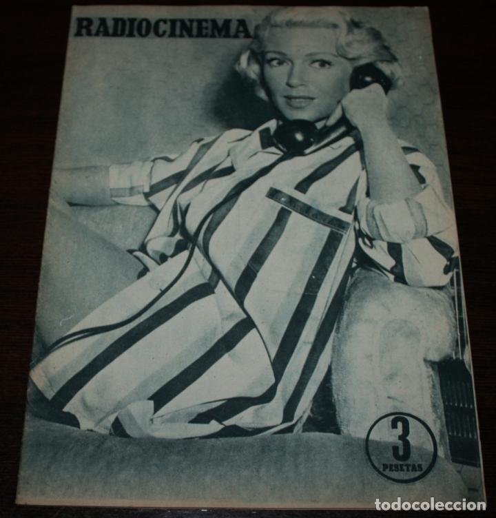 RADIOCINEMA Nº 314 - 28/07/1956 - EN PORTADA/CONTRAPORTADA: LANA TURNER (Cine - Revistas - Radiocinema)
