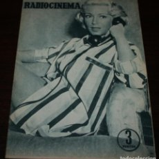 Cine: RADIOCINEMA Nº 314 - 28/07/1956 - EN PORTADA/CONTRAPORTADA: LANA TURNER. Lote 99908155