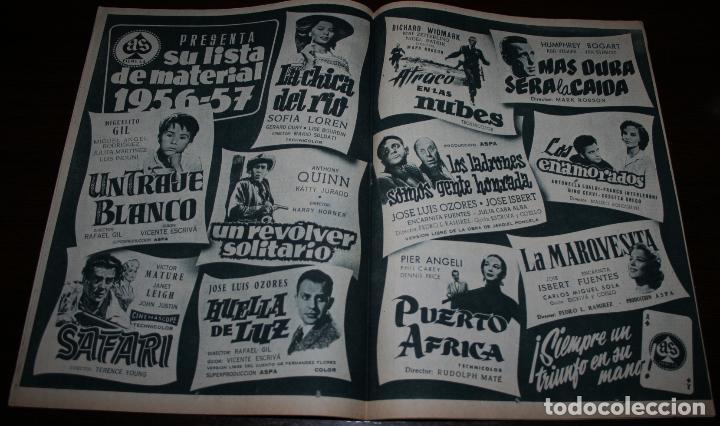 Cine: RADIOCINEMA Nº 314 - 28/07/1956 - EN PORTADA/CONTRAPORTADA: LANA TURNER - Foto 2 - 99908155