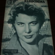 Cine: RADIOCINEMA Nº 312 - 14/07/1956 - EN PORTADA/CONTRAPORTADA: CORNELL BORCHERS/JOHN WAYNE. Lote 99908239