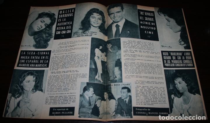 Cine: RADIOCINEMA Nº 323 - 29/09/1956 - EN PORTADA/CONTRAPORTADA: NATALIE WOOD/ELSA CARDENAS - Foto 2 - 99908327