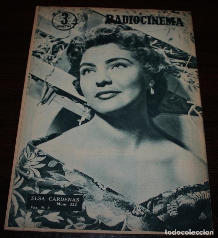 Cine: RADIOCINEMA Nº 323 - 29/09/1956 - EN PORTADA/CONTRAPORTADA: NATALIE WOOD/ELSA CARDENAS - Foto 3 - 99908327