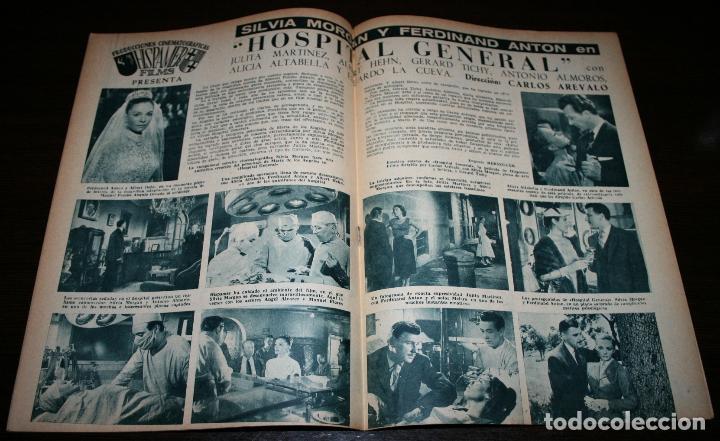 Cine: RADIOCINEMA Nº 326 - 20/10/1956 - EN PORTADA/CONTRAPORTADA: GUSTAVO ROJO/ELIZABETH MONTGOMERY - Foto 2 - 99908751