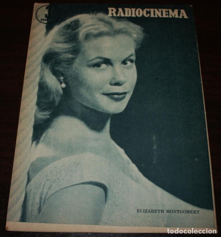 Cine: RADIOCINEMA Nº 326 - 20/10/1956 - EN PORTADA/CONTRAPORTADA: GUSTAVO ROJO/ELIZABETH MONTGOMERY - Foto 3 - 99908751