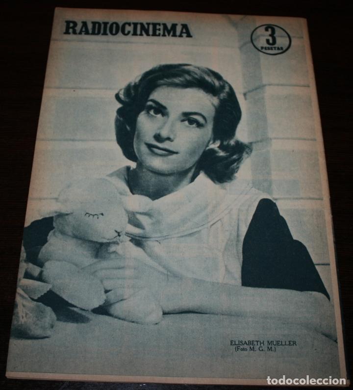 Cine: RADIOCINEMA Nº 325 - 13/10/1956 - EN PORTADA/CONTRAPORTADA: RICARDO BALBOA/ELIZABETH MUELLER - Foto 3 - 99908783