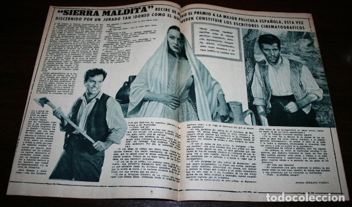 Cine: RADIOCINEMA Nº 236 - 29/01/1955 - EN PORTADA/CONTRAPORTADA: EVELYN KEYES/WALTER PIDGEON - Foto 2 - 99908803