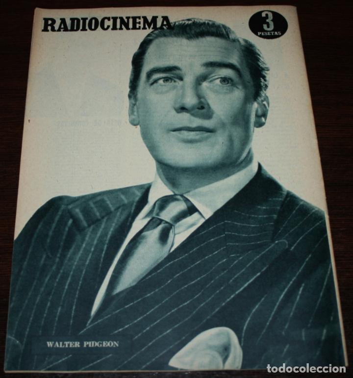 Cine: RADIOCINEMA Nº 236 - 29/01/1955 - EN PORTADA/CONTRAPORTADA: EVELYN KEYES/WALTER PIDGEON - Foto 3 - 99908803