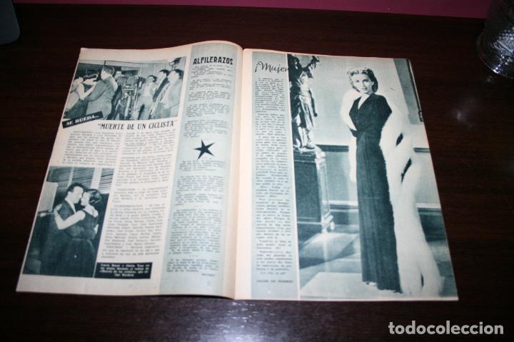 Cine: RADIOCINEMA Nº 234 - 15/01/1955 - EN PORTADA/CONTRAPORTADA: ELEANOR PARKER/JIM DAVIS - Foto 2 - 99908859