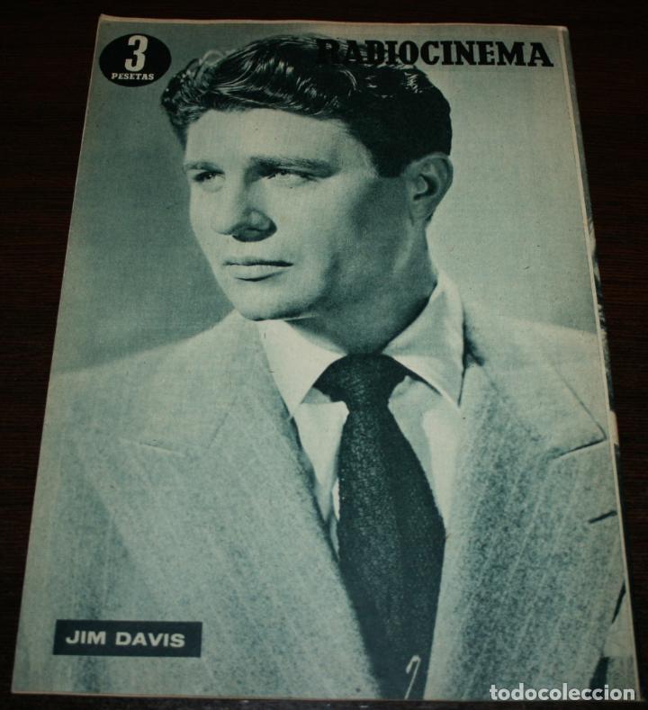 Cine: RADIOCINEMA Nº 234 - 15/01/1955 - EN PORTADA/CONTRAPORTADA: ELEANOR PARKER/JIM DAVIS - Foto 3 - 99908859