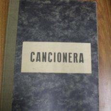Cine: CANCIONERA. 1940 GUIÓN ORIGINAL DE LA PELÍCULA LLEVADA AL CINE POR JULIÁN TORREMOCHA.. Lote 100080603