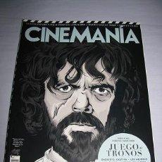 Cine: REVISTA CINEMANIA Nº248 (EN PORTADA:JUEGO DE TRONOS) ¡¡LEER DESCRIPCION!!. Lote 100086627