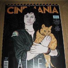 Cine: REVISTA CINEMANIA Nº260 (EN PORTADA:ESPECIAL ALIEN) ¡¡LEER DESCRIPCION!!. Lote 100086855