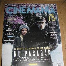 Cine: REVISTA CINEMANIA Nº262 (EN PORTADA:LA GUERRA DEL PLANETA DE LOS SIMIOS) ¡¡LEER DESCRIPCION!!. Lote 100087455