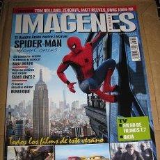 Cine: REVISTA IMAGENES Nº381 (EN PORTADA:SPIDERMAN HOMECOMING) ¡¡LEER DESCRIPCION!!. Lote 100169027