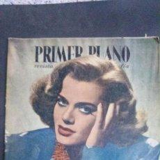 Cine: PRIMER PLANO-1947-MARLENE DIETRICH-CLAUDETTE COLBERT-JANIS PAIGE-DOLORES DEL RIO-ANTONIO CASAL. Lote 100275667
