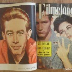 Cine: REVISTA DE CINE FILMELANDIA 1957- 60 LOTE TOMO 9 REVISTAS (VER FOTOGRAFIAS LOTE). Lote 100294359