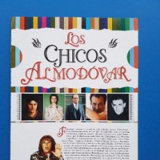Cine: LOS CHICOS (PEDRO) ALMODOVAR (LA MALA EDUCACION) - GAEL GARCIA BERNAL - RECORTE CINEMANIA 2004. Lote 101141715