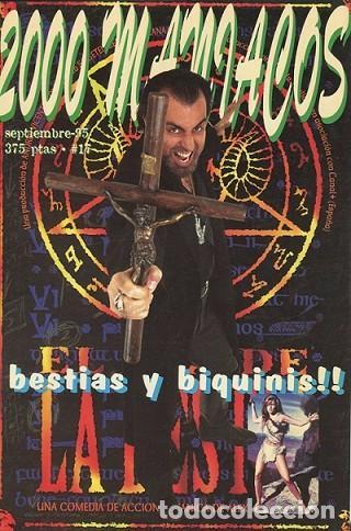 2000 MANIACOS. BESTIAS Y BIQUINIS!! NÚMERO SEPTIEMBRE 1995. (Cine - Revistas - Cinemanía)