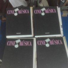 Cine: CUATRO COLECCIONES DE CINE MUSICA. Lote 101274740