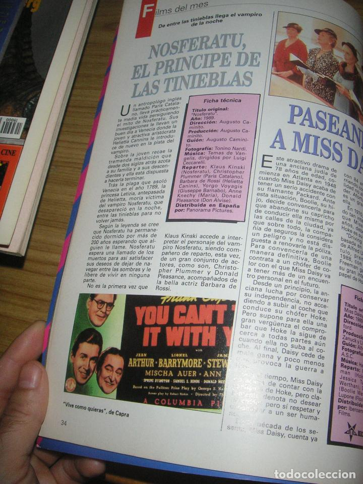 Cine: Interfilms nº 20. Abril 1990. - Foto 3 - 101527174