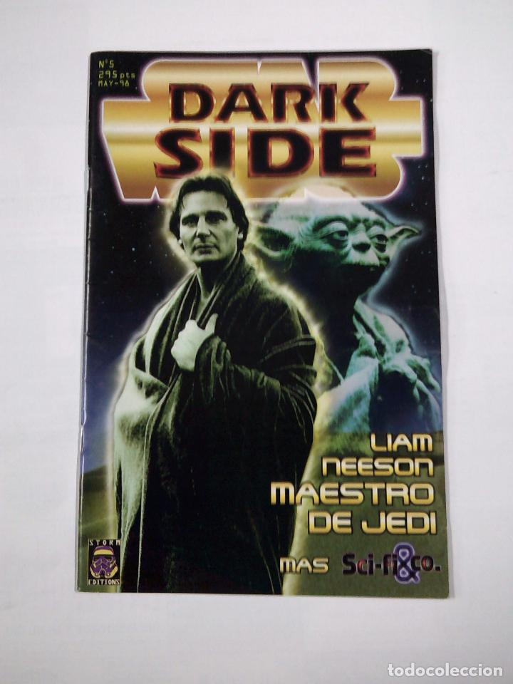 DARK SIDE. Nº 5. STAR WARS. LIAM NEESON MAESTRO DE JEDI. TDKC33 (Cine - Revistas - Dark side)