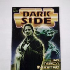 Cine: DARK SIDE. Nº 5. STAR WARS. LIAM NEESON MAESTRO DE JEDI. TDKC33. Lote 101677875