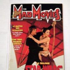 Cine: MAD MOVIES Nº 106. CINE FANTASTIQUE. LA TRILOGIE STAR WARS. REVISTA EN FRANCES. TDKC33. Lote 101678499