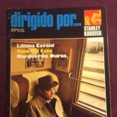 Cine: DIRIGIDO POR REVISTA N- 41. 1977. STANLEY KUBRICK. Lote 101713007