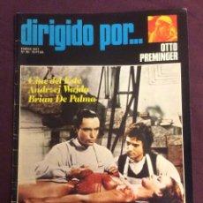 Cine: DIRIGIDO POR REVISTA N- 40. 1977. OTTO PREMINGER . Lote 101713039