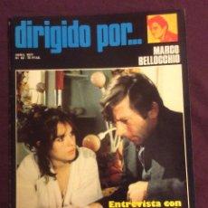 Cine: DIRIGIDO POR REVISTA N- 43. 1977. MARCO BELLOCCHIO. Lote 101713147