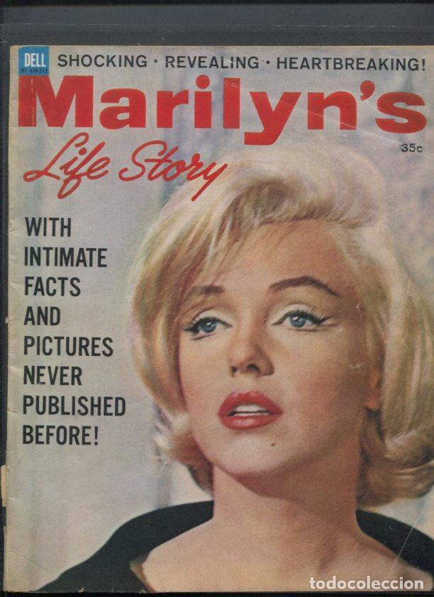 MARILYN MONROE REVISTA DE 1962 MARILYN´S LIFE STORY COMPLETAMENTE DEDICADA A LA ACTRIZ (Cine - Revistas - Otros)