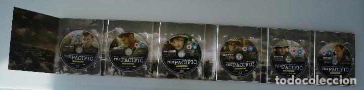 Cine: THE PACIFIC CAJA BOX 6 DVD EDICIÓN LUJO ESPECIAL SERIE COMPLETA – GUERRA DEL PACIFICO PELICULA - Foto 3 - 101846087