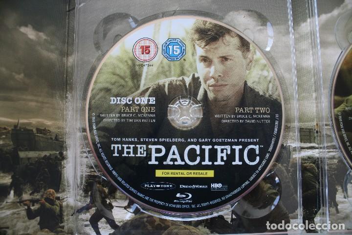 Cine: THE PACIFIC CAJA BOX 6 DVD EDICIÓN LUJO ESPECIAL SERIE COMPLETA – GUERRA DEL PACIFICO PELICULA - Foto 4 - 101846087