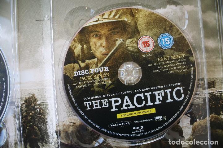Cine: THE PACIFIC CAJA BOX 6 DVD EDICIÓN LUJO ESPECIAL SERIE COMPLETA – GUERRA DEL PACIFICO PELICULA - Foto 7 - 101846087