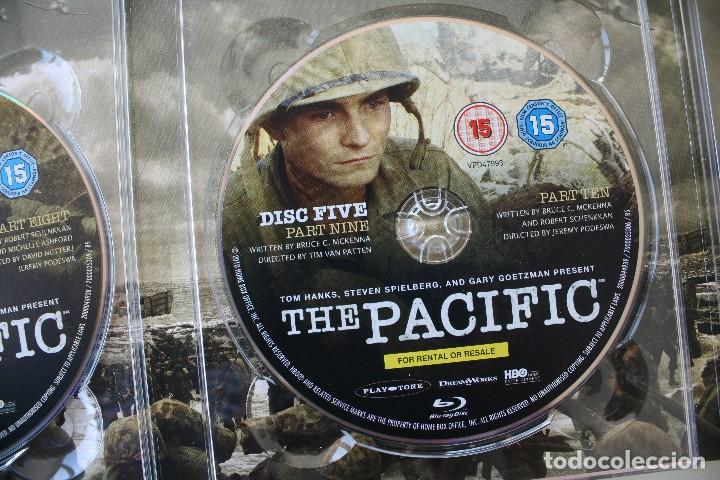 Cine: THE PACIFIC CAJA BOX 6 DVD EDICIÓN LUJO ESPECIAL SERIE COMPLETA – GUERRA DEL PACIFICO PELICULA - Foto 8 - 101846087