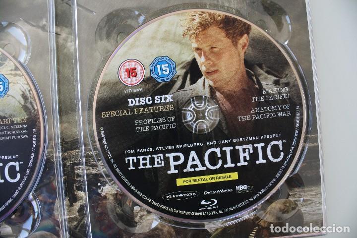 Cine: THE PACIFIC CAJA BOX 6 DVD EDICIÓN LUJO ESPECIAL SERIE COMPLETA – GUERRA DEL PACIFICO PELICULA - Foto 9 - 101846087