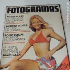 Cine: FOTOGRAMAS Nº 1355 OCTUBRE 1974 AGATA WIDMARK (PORTADA) ROCIO DURCAL ALBERTO CLOSAS. Lote 102158315