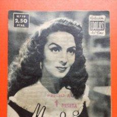 Cine: MARIA FELIX COLECCION IDOLOS DEL CINE Nº 19.-1958. Lote 102427219