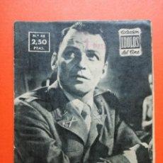 Cine: COLECCION IDOLOS DEL CINE -- FRANK SINATRA -- AÑO II - Nº 48 - 1958. Lote 102428039