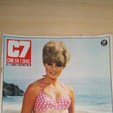 Cine: REVISTA CINE EN 7 DIAS - 1972- RICHARD CHAMBERLAIN - KAREN BOYER. Lote 102499411