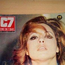 Cine: REVISTA CINE EN 7 DIAS- 1973 - LA POLACA - MONICA RANDALL. Lote 102499807