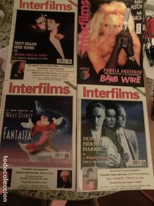INTERFILMS GRAN LOTE (105) REVISTAS DE CINE. (Cine - Revistas - Interfilms)