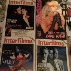 Cine: INTERFILMS GRAN LOTE (105) REVISTAS DE CINE.. Lote 173132340