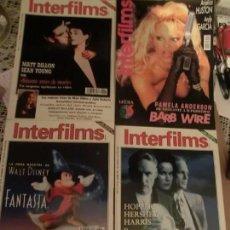 Cine: INTERFILMS GRAN LOTE (105) REVISTAS DE CINE. NOTA DE ULTIMA HORA,ENVIO GRATUITO. Lote 173132340