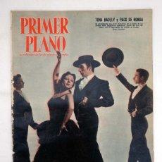 Cinéma: PRIMER PLANO REVISTA ESPAÑOLA DE CINEMATOGRAFÍA 864. TONA RADELLY, PACO DE RONDA (VVAA) 1957. Lote 102802887