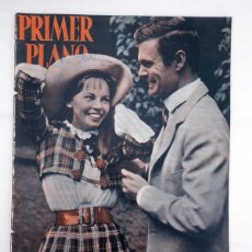 Cine: PRIMER PLANO REVISTA ESPAÑOLA DE CINEMATOGRAFÍA 936. LESLIE CARON, LOUIS JOURDAN, 1958. Lote 102804164